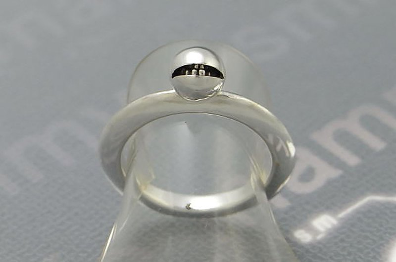 anti smile ball ring_10 ( s_m-R.18) 不高兴 怒 銀 環 戒指 指环 jewelry sterling silver
