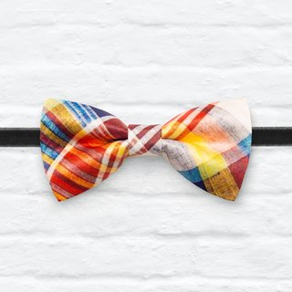 Style 0285 Modern Boys Bowtie, Toddler Bowtie Toddler Bow tie, Groomsmen bow tie, Pre Tied and Adjustable Novioshk