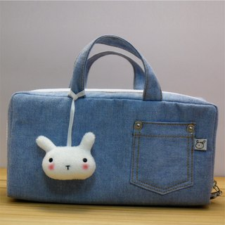 Bucute Essential Oil Bag / Cosmetic Bag / Popular Products / Jeans / Gifts / Rabbit / Cute / Hand / Purple