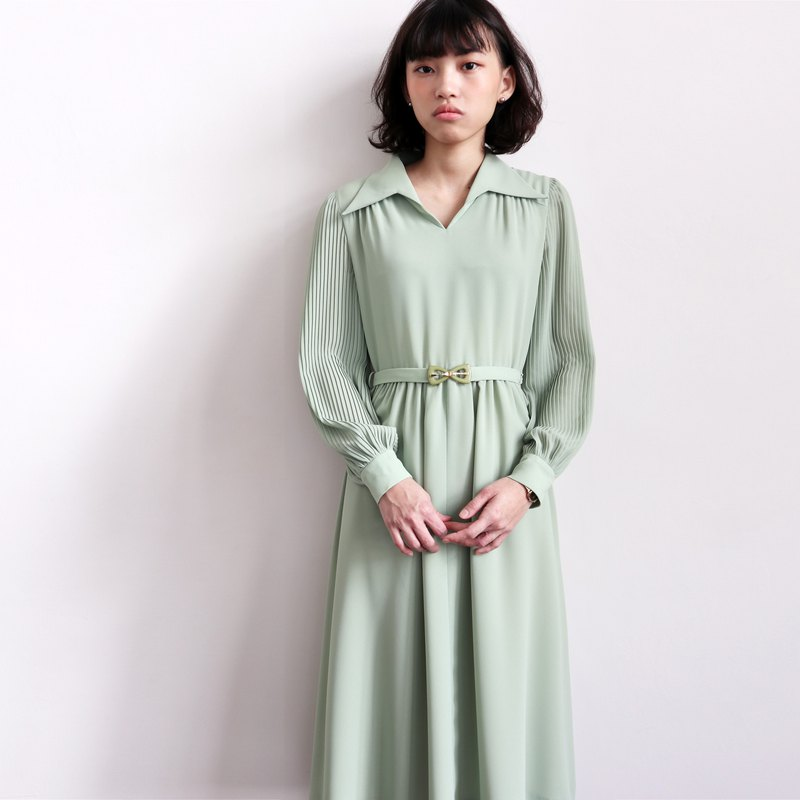 Pumpkin Vintage. Vintage chiffon dress