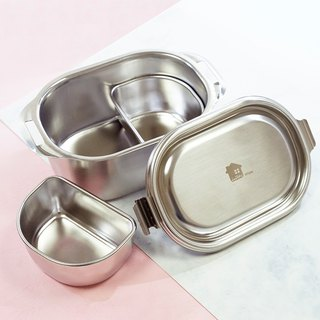 【Box】 304 stainless steel tableware series - Foglight 2 models (about 550ml)