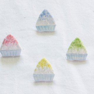 剉 ice shaved ice brooch accessories
