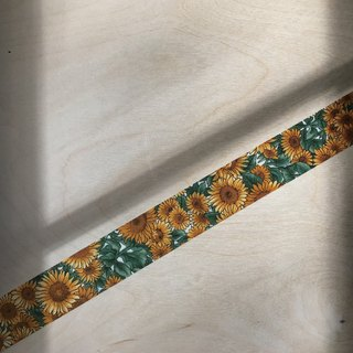 Early Ribbon - Sunflower / Handmade Material