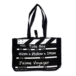Director Clap Tote Bag - Black