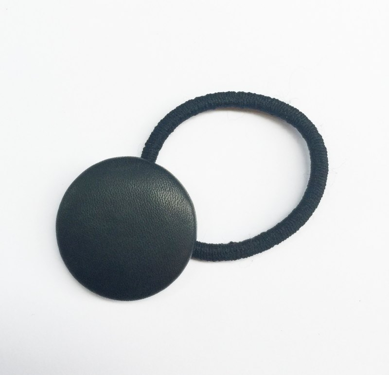 Sienna bag button elastic black hair ring black bracelet