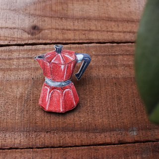 Moka Coffee Pot Pin