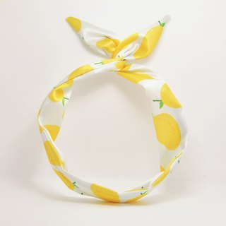 Ben Shou original handmade mango print rabbit ear hair band