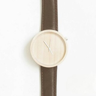 Wood Collection | Minimalist Handmade Watch Made of Wood – Dark Brown
