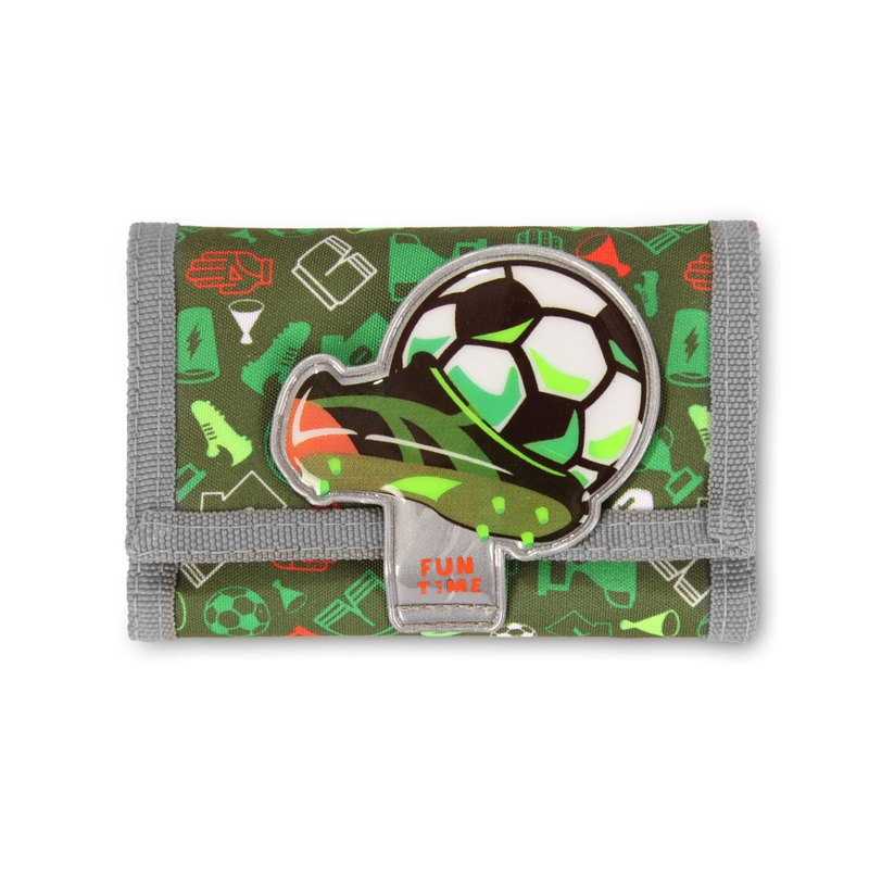 Tiger Family-Fun Time Series Fun Wallet - Soccer World