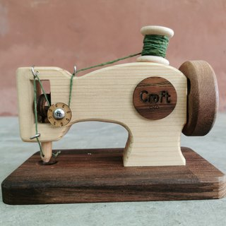 wooden sewing machine : handmade