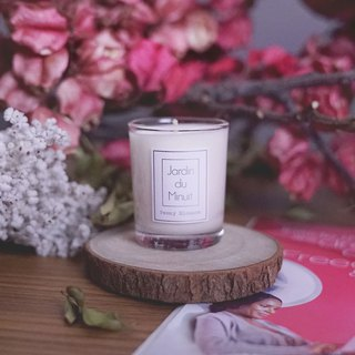 Handmade Soy Candle (Large) - Peony Flower