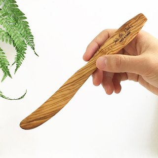 Olive wood CLASSIC Cutlery - Butter knife