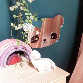 Dutch a Little Lovely Company ─ healing panda / bear shape mirror