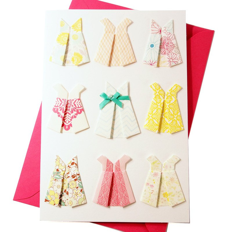 Carefully selected dresses give the most beautiful 妳 [Hallmark classic handmade series birthday wishes]
