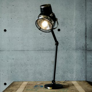 The Rider s Eye Knight Eye 2.0 Classic Old Car Headlight Remanufactured Industrial Articulated Table Lamp