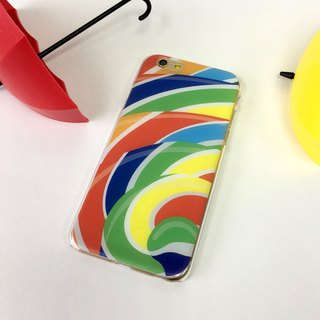 Colorful lollipop Pattern Print Soft / Hard Case for iPhone X,  iPhone 8,  iPhone 8 Plus, iPhone 7 case, iPhone 7 Plus case, iPhone 6/6S, iPhone 6/6S Plus, Samsung Galaxy Note 7 case, Note 5 case, S7 Edge case, S7 case