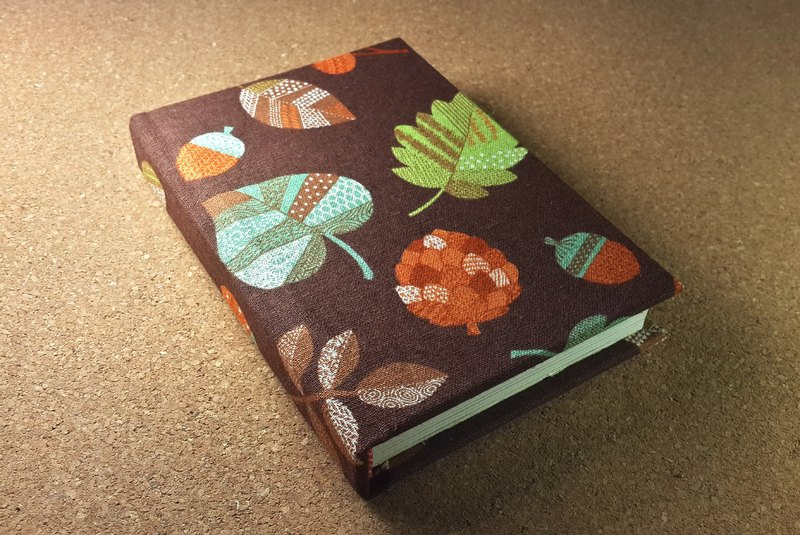 IVxVI series [Spring mud leaves] 4X6 inch hand-made hardcover phase