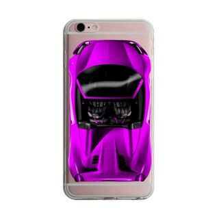 Custom sports car purple transparent Samsung S5 S6 S7 note4 note5 iPhone 5 5s 6 6s 6 plus 7 7 plus ASUS HTC m9 Sony LG g4 g5 v10 phone shell mobile phone sets phone shell phonecase