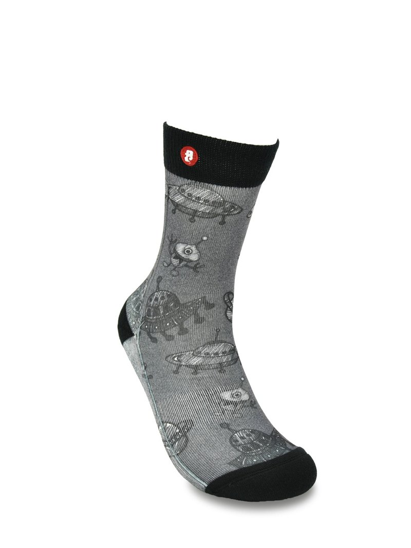 Hong Kong Design | Fools Day Printed Socks - ET Mono 00020