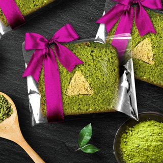 [Mr. Takamatsu handmade brownie monopoly] ribbon - chestnut green tea pastry pound cake