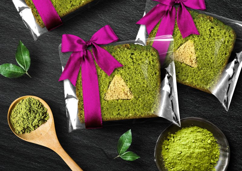 [Mr. Dode Hand Brownie Monopoly] Ribbon - Chestnut Matcha Puff Pastry Cake