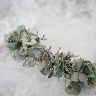 [Paragraph dried elegant flower row / flower hair accessories] - eternal flower / dried flower / bouquet jewelry / wedding bouquets bouquet / Flowers & Gifts