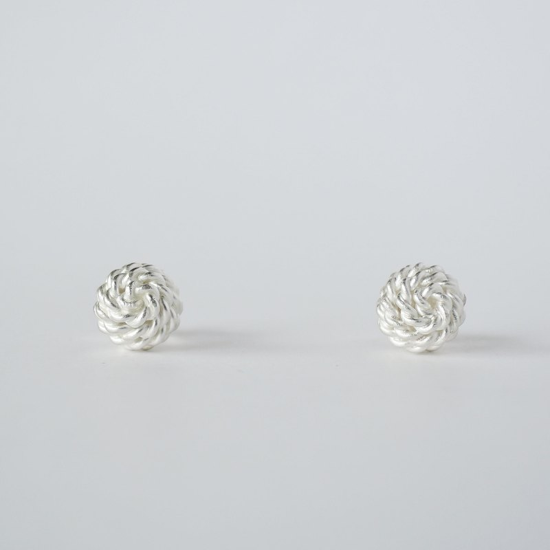 ki-ichi ピアス (S)  =silver 950 earrings=