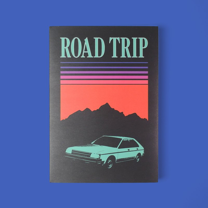 ROAD TRIP NOTE BOOK 記事本