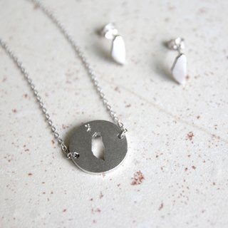 #islandpride 925 Matte Silver Minimalistic ❖ Taiwan ❖ Necklace by izola.co