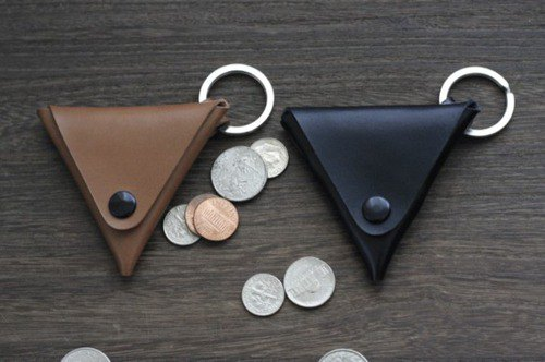 Tochigi leather coin case coin purse wallet genuine leather cowhide made in Japan with red tag black / mocha / camel / red / blue