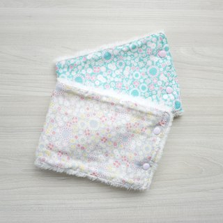 Super soft warm baby neck - small floral