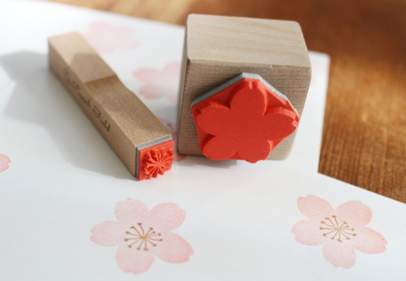 SAKURA stamp set