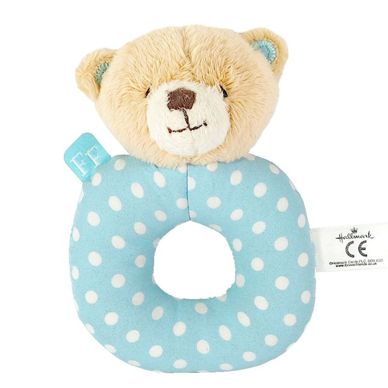 Baby cotton / boy hand toy [Hallmark-ForeverFriends down baby series]