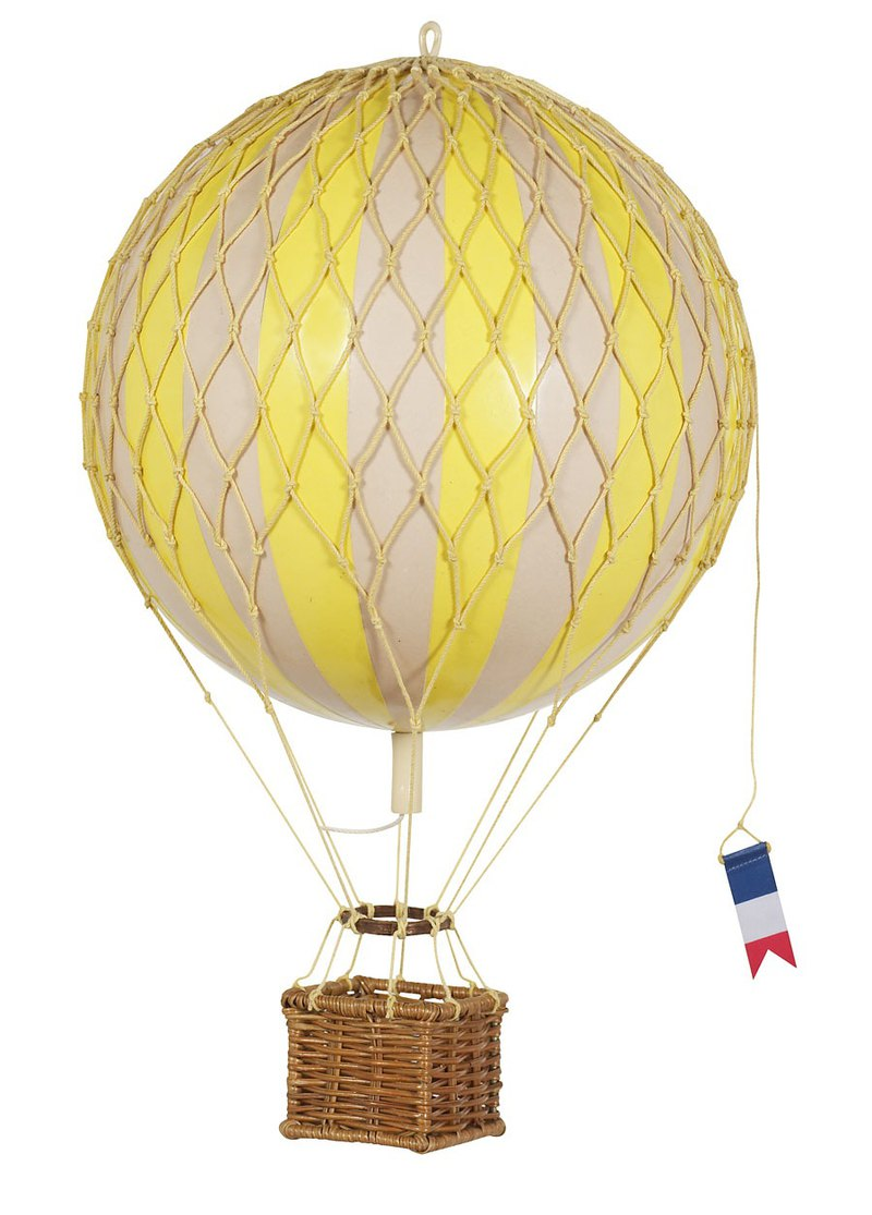 Authentic Models Hot Air Balloon Strap (Small Adventure / Yellow)