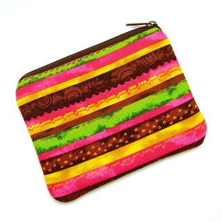 Zipper pouch / coin purse (padded) (ZS-186)