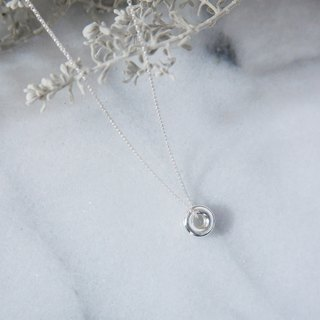 Sterling Silver Candy Donuts Sterling Silver Necklace Exchange Gifts / Friends / Lovers
