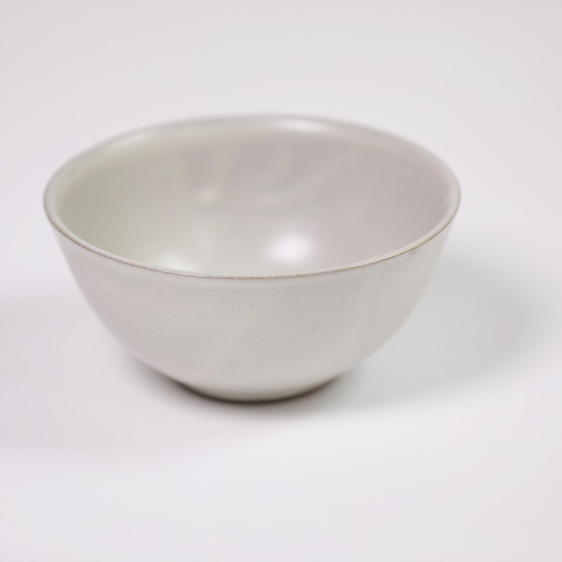 Ceramic bowl-white-fair trade