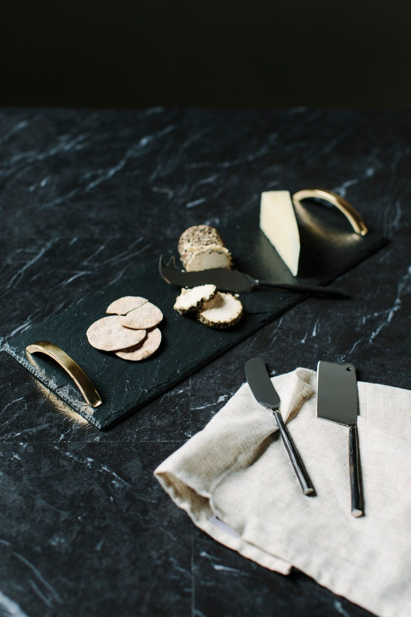 【UK】●Burnished Drinks Accessory Set●  The Just Slate Company