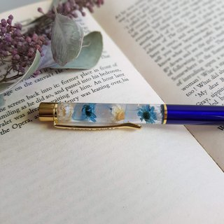 Time pen | blue and white