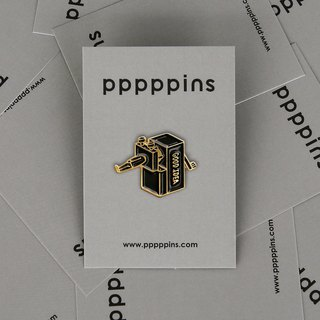 Good Idea (Black) Enamel Pin
