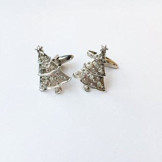 Christmas limited - Christmas tree cufflinks Christmas Tree Cufflink