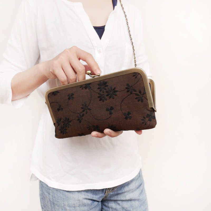 Tainan Small Travel Shoulder Bag Shoulder Bag / Long Clip / Phone Bag [Made in Taiwan]