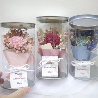 Routine dry roses small bouquet * 3 Exclusive single