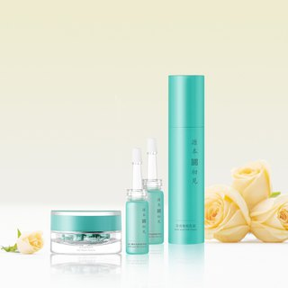 Source Original / Firming Flawless Set - Cream Essence Care Serum 2 Set Repair Fine Lines Firming Anti-Wrinkle Oil Moisturizing Purifying Pores Oil-Water Balance
