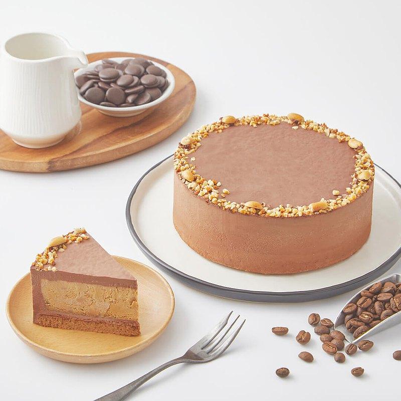 75% 摩卡生巧乳酪蛋糕