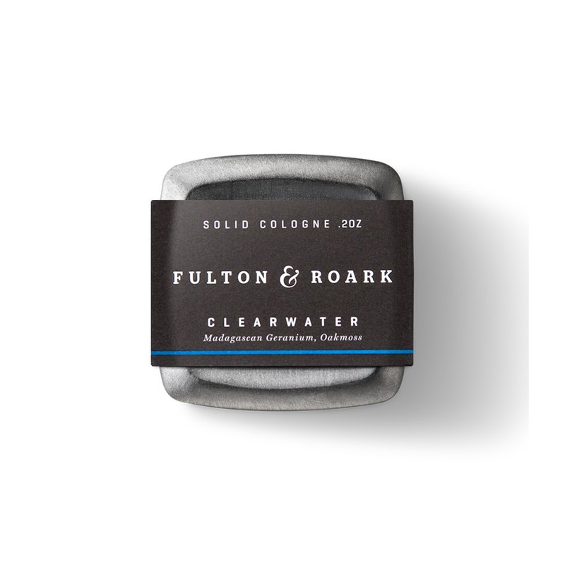 CLEARWATER Top Men's Solid Cologne - Fulton & Roark