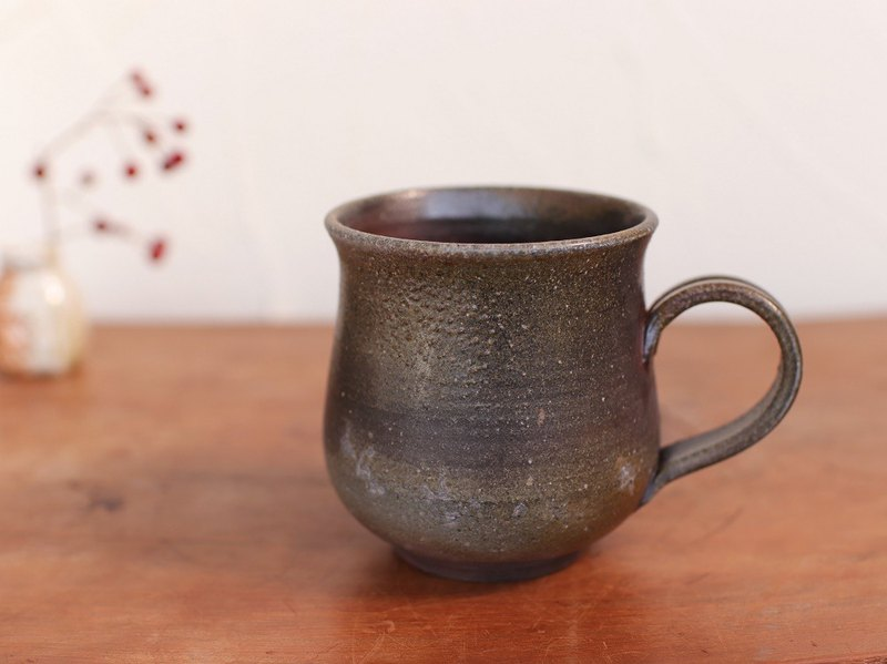 Bizen coffee cup (large) c8-055