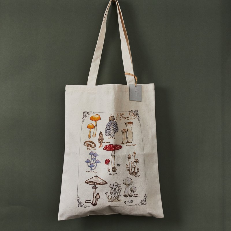Fungus & Radish Garden Double Prints Tote Bag