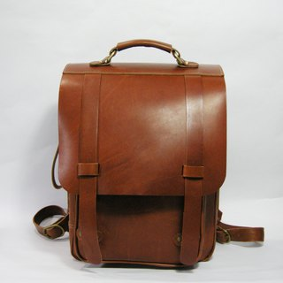 Good student bag (adults and children's schoolbags) _ as a zuo zuo hand made leather bag