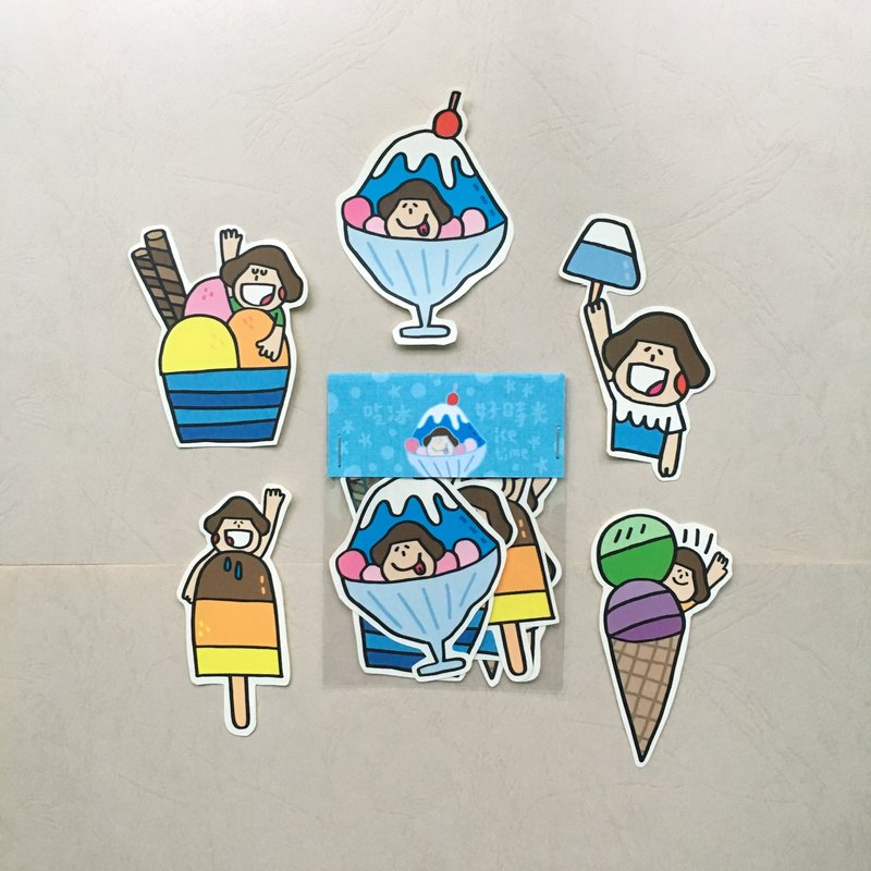 "Summer Ice Products ""Stickers"""